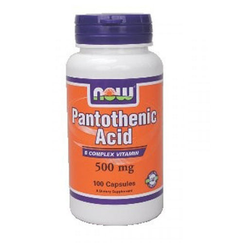 NOW Pantothenic Acid 500mg 100