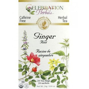 Celebration Herbals Ginger Tea 24 Tea Bags