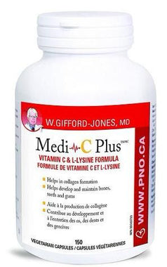 Preferred Nutrition Medi C Plus Vitamin C & L Lysine Formula 150 caps