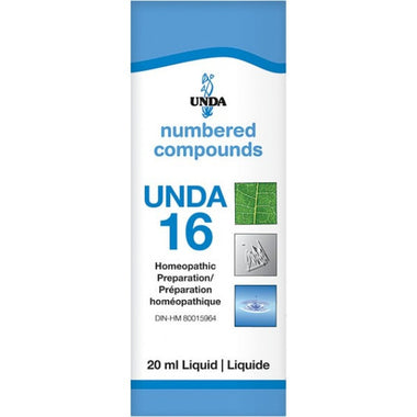 UNDA Numbered Compounds UNDA 16