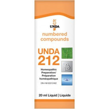 UNDA Numbered Compounds  #212, 20ML