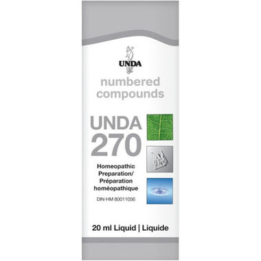UNDA Numbered Compounds UNDA 270 20ml