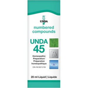 UNDA Numbered Compounds UNDA 45