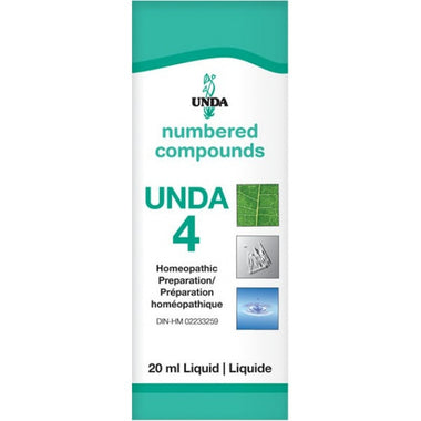UNDA Numbered Compounds UNDA 4