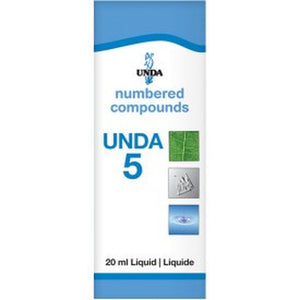 UNDA Numbered Compounds UNDA 5