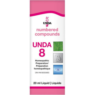 UNDA Numbered Compounds UNDA 8