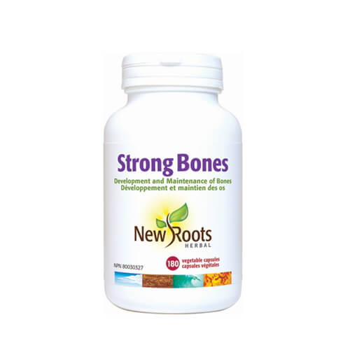 New Roots Strong Bones 180 Vegetable Capsules