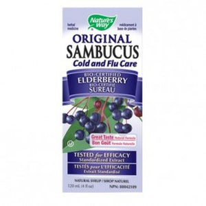 Nature's Way, Original Sambucus, Bio-Certified Elderberry, Natural Syrup