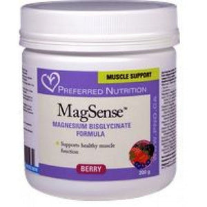Preferred Nutrition MagSense Berry Powder 200G