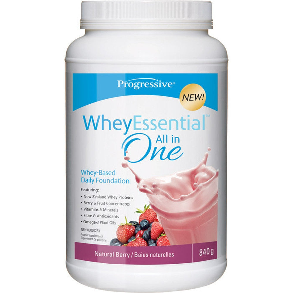 Progressive WheyEssential Berry All in One 840G