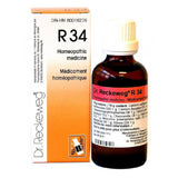 Dr. Reckeweg R34 Homeopathic Medicine 50ml