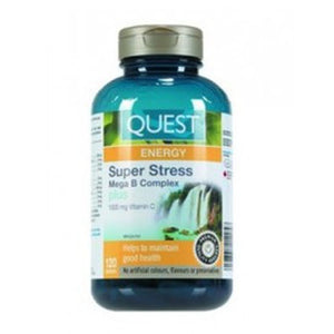 QUEST Super Stress B Plus C 12, 60 Tabs