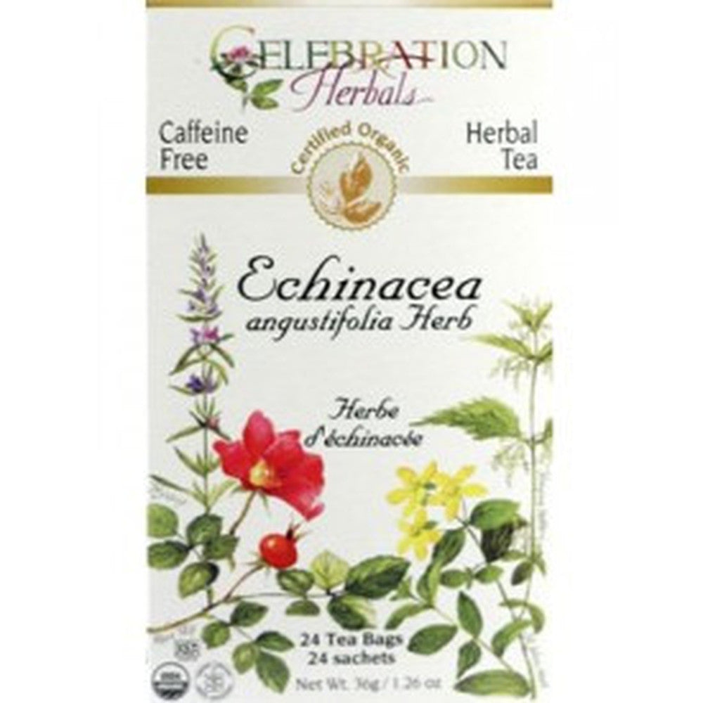 Celebration Herbals Echinacea Angustifolia Tea 24 Tea Bags