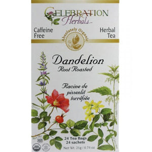 Celebration Herbals Dandelion Root Roasted 24 bags