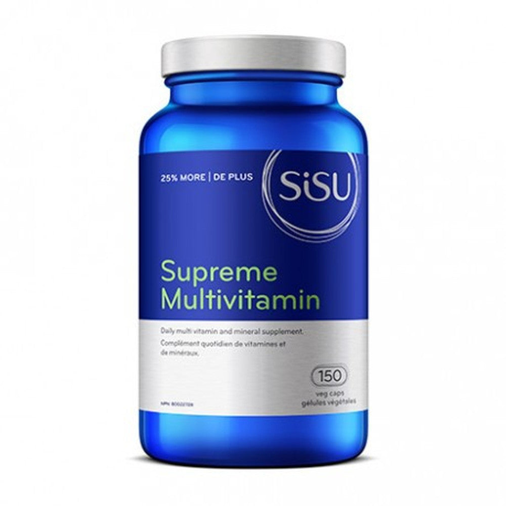 SiSu Supreme Multivitamin with Iron