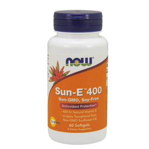Now Foods, Sun-E 400, 60 Softgels