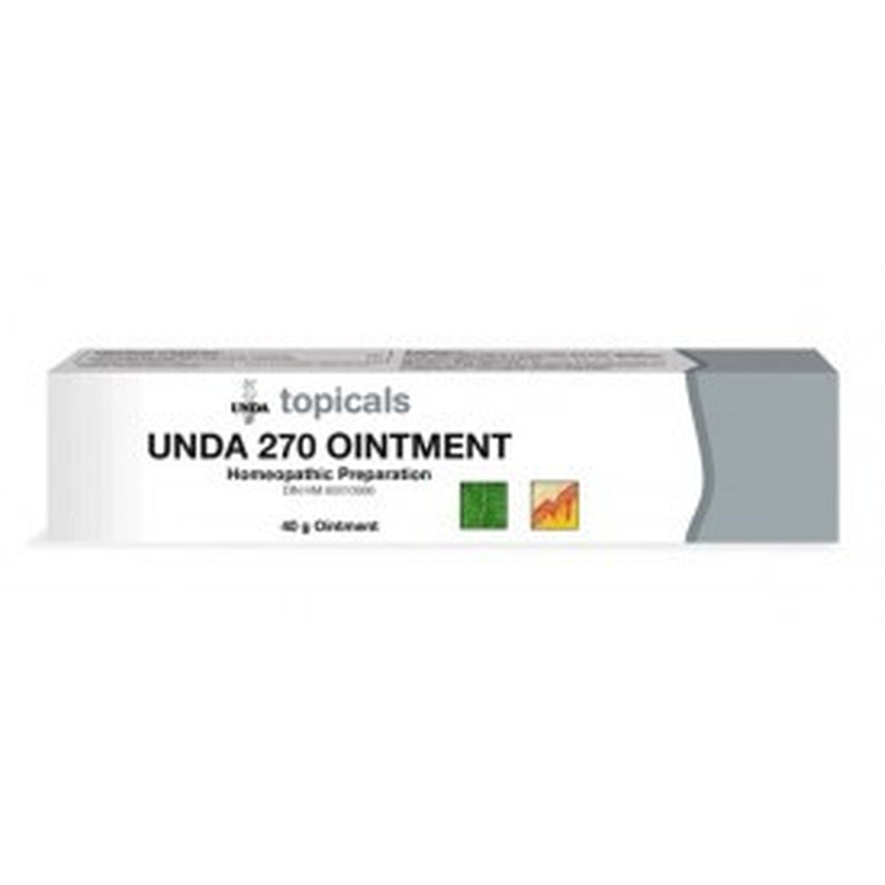 UNDA Numbered Compounds UNDA 270 Ointment 40G