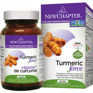 New Chapter Turmeric Force 120 Caps
