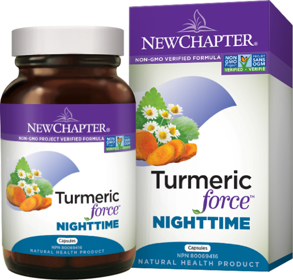 New Chapter Turmeric Force Nightime 48 caps
