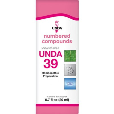 UNDA Numbered Compounds UNDA 39
