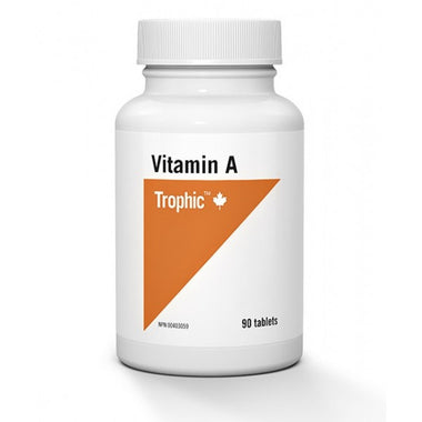 Trophic Vitamin A 10000 IU 90 Tablets