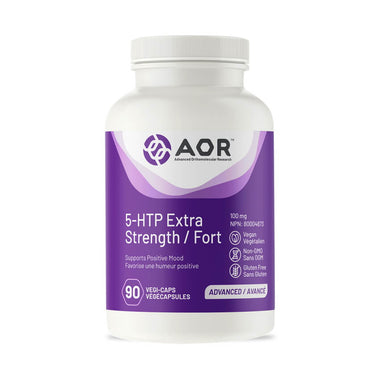 AOR 5-HTP Extra Strength 100mg 90 Vegi-Caps