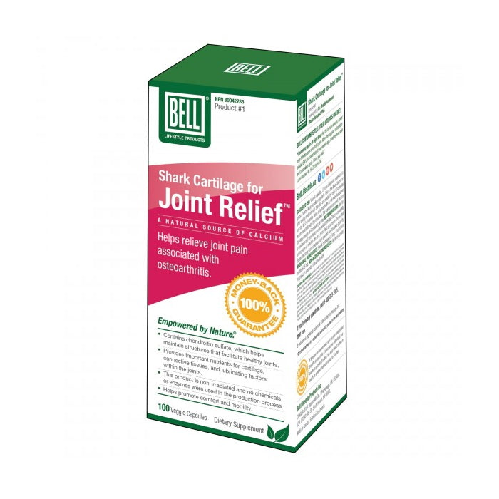 Bell Shark Cartilage for Joint Support 100 Capsules
