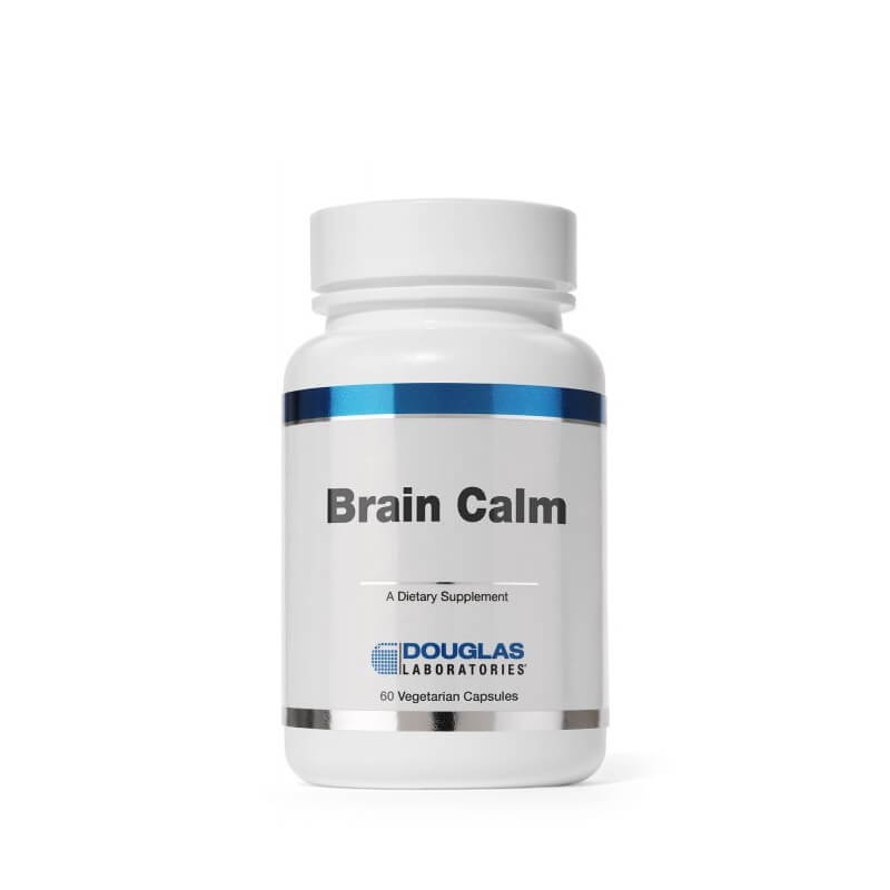 Douglas Laboratories Brain Calm 60 Vegetarian Capsules
