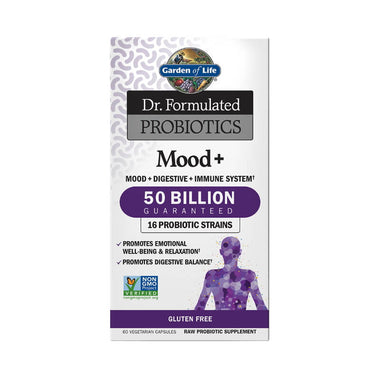 Garden of Life Dr. Formulated Probiotics Mood+ 50 Billion CFU 60 Veg Caps