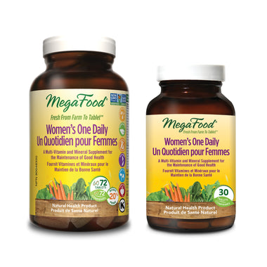 MegaFood Women's One Daily 72 Tablets BONUS PACK Free 30 Tablets
