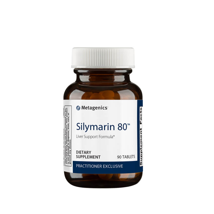Metagenics Silymarin 80 90 Tablets