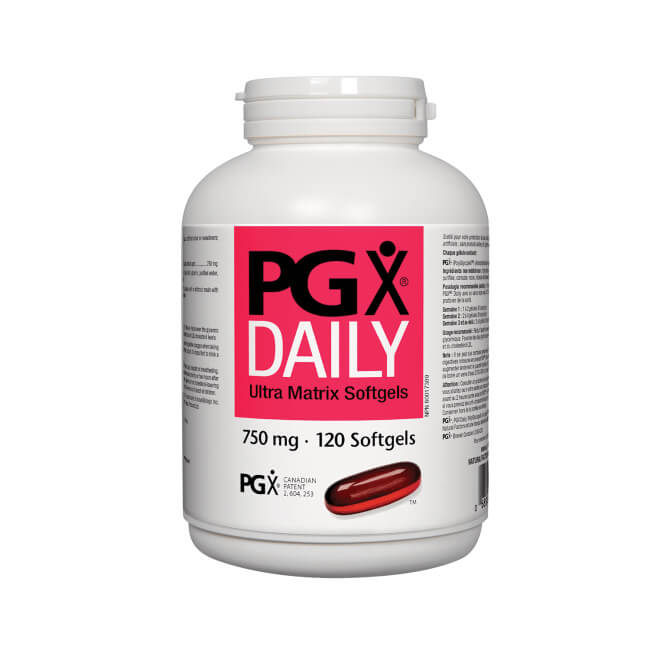 Natural Factors, PGX Daily Ultra Matrix 750mg 120 Softgels