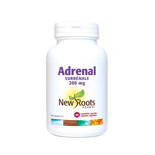 New Roots Adrenal 200mg 90 Vegetable Capsules