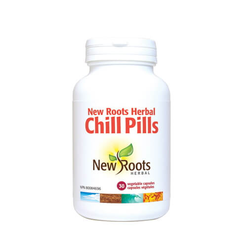 New Roots Chill Pills 30 Vegetable Capsules