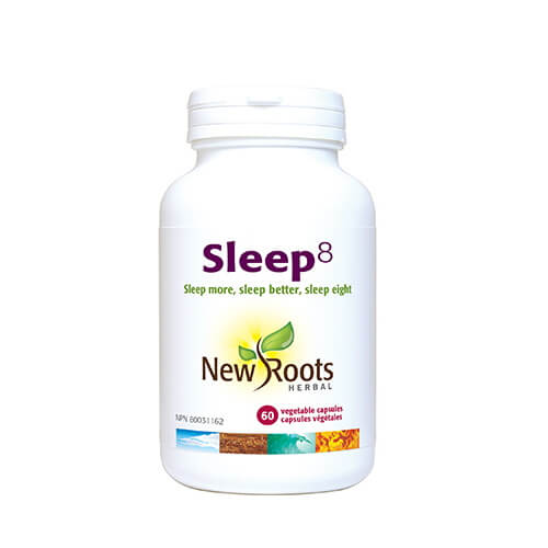 New Roots Sleep 8 60 Vegetable Capsules