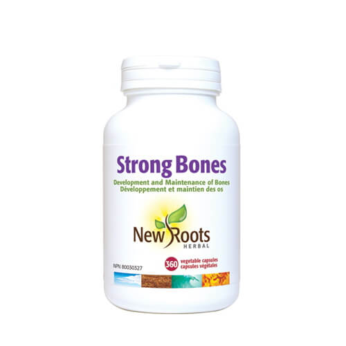 New Roots Strong Bones 360 Vegetable Capsules