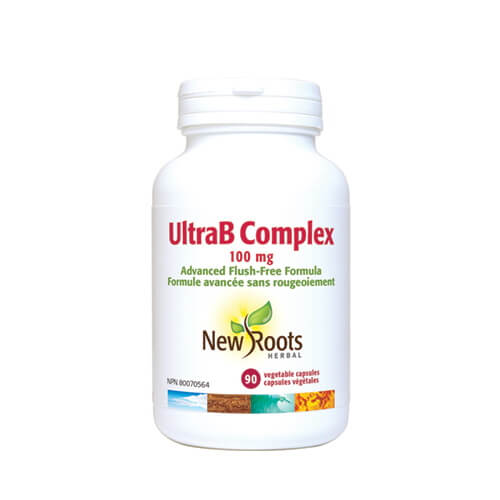 New Roots Ultra B Complex 100mg 90 Vegetable Capsules