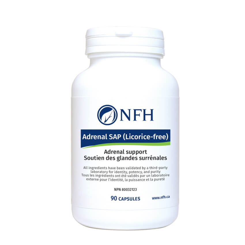 NFH Adrenal SAP (Licorice-free) 90 Capsules
