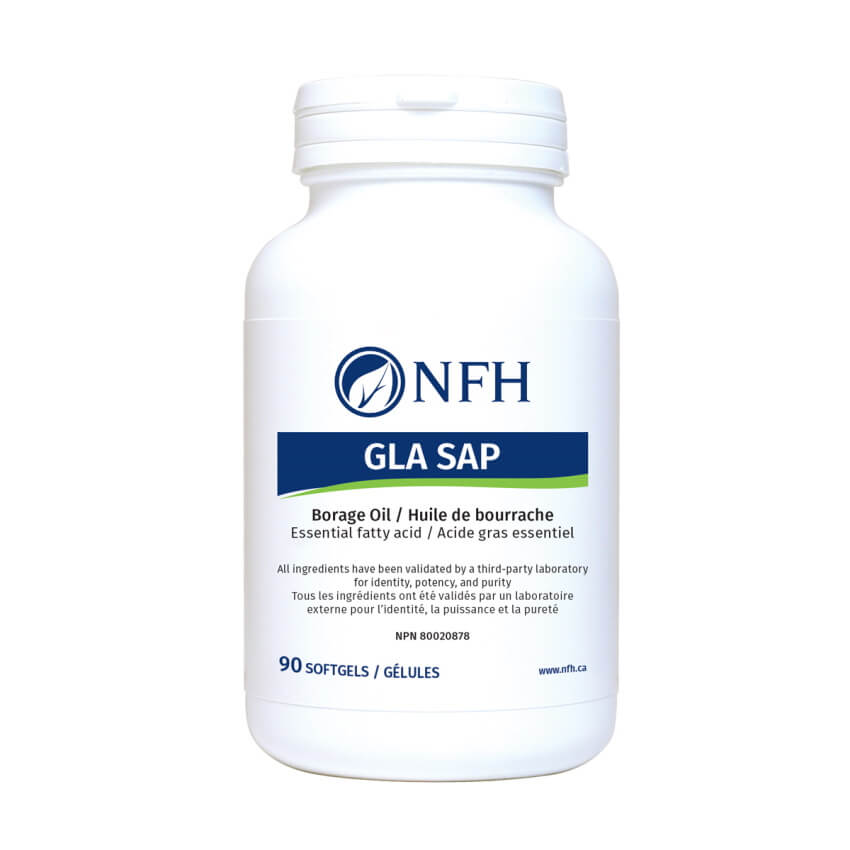 NFH GLA SAP 90 Softgels