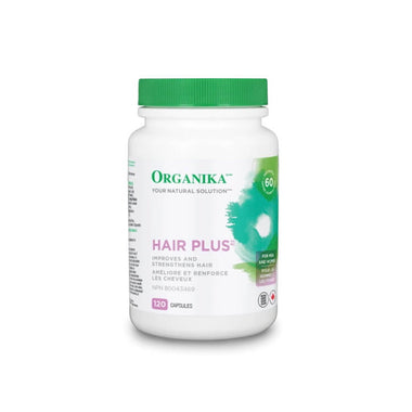 Organika Hair Plus 120 caps