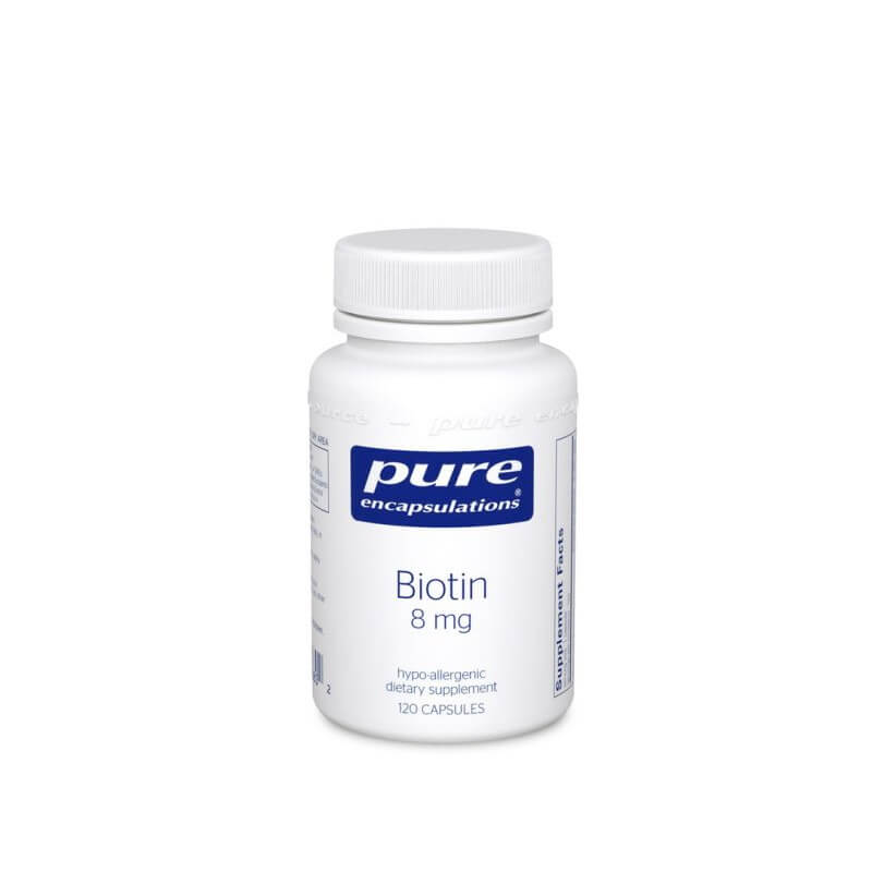 Pure Encapsulations Biotin 8mg 120 Capsules