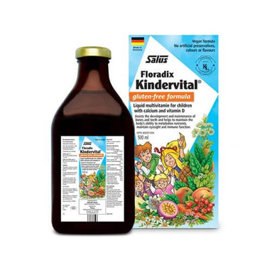 Salus Kindervital Multivitamin for Children Gluten Free 500mL