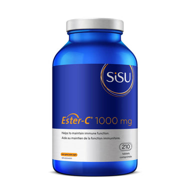 SiSU Ester-C 1000mg 210 tablets Help to maintain immune function.