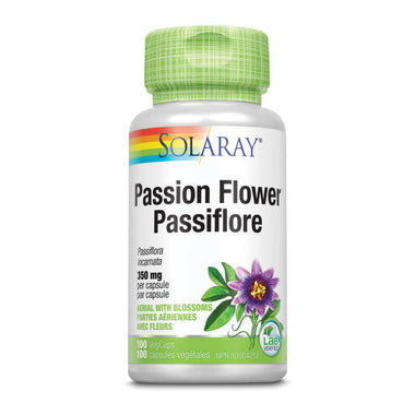 Solaray Passion Flower 350mg 100 VegCaps