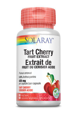 Solaray Tart Cherry Fruit Extract, 425 mg 90 Veg Caps