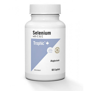 Trophic Selenium with C & E 60 Caplets