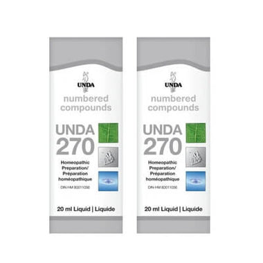 UNDA Numbered Compounds UNDA 270 20mL BOGO