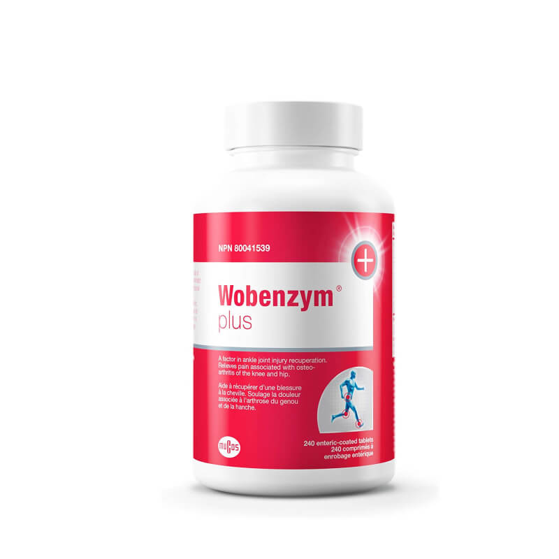 Wobenzym Plus 240 Enteric-Coated Tablets