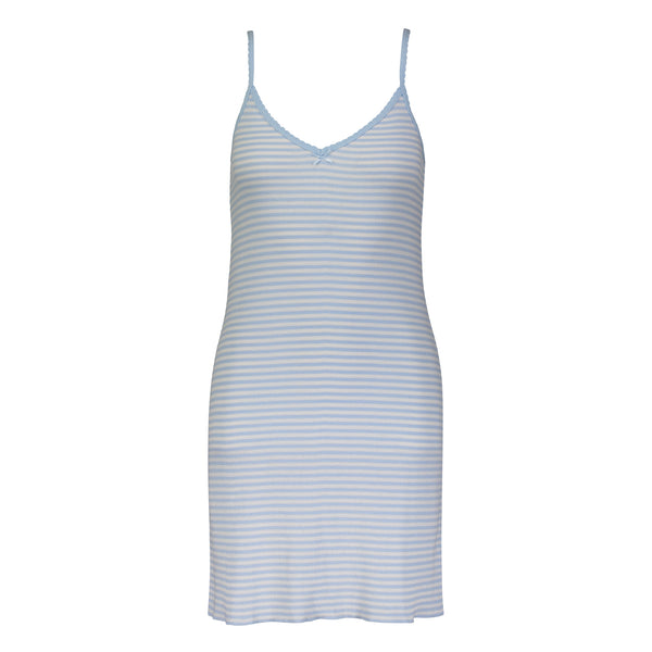 Polkadot STRIPE CHEMISE Lt Blue Sailor Stripe