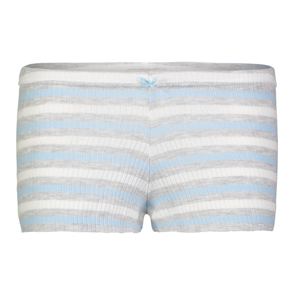 Polkadot SHORT Blue Lee Rib Stripe